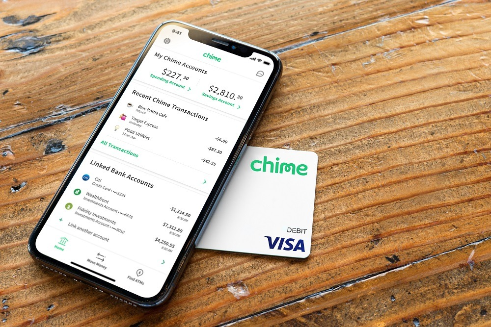 Chime Banking - Mobile App + Debit