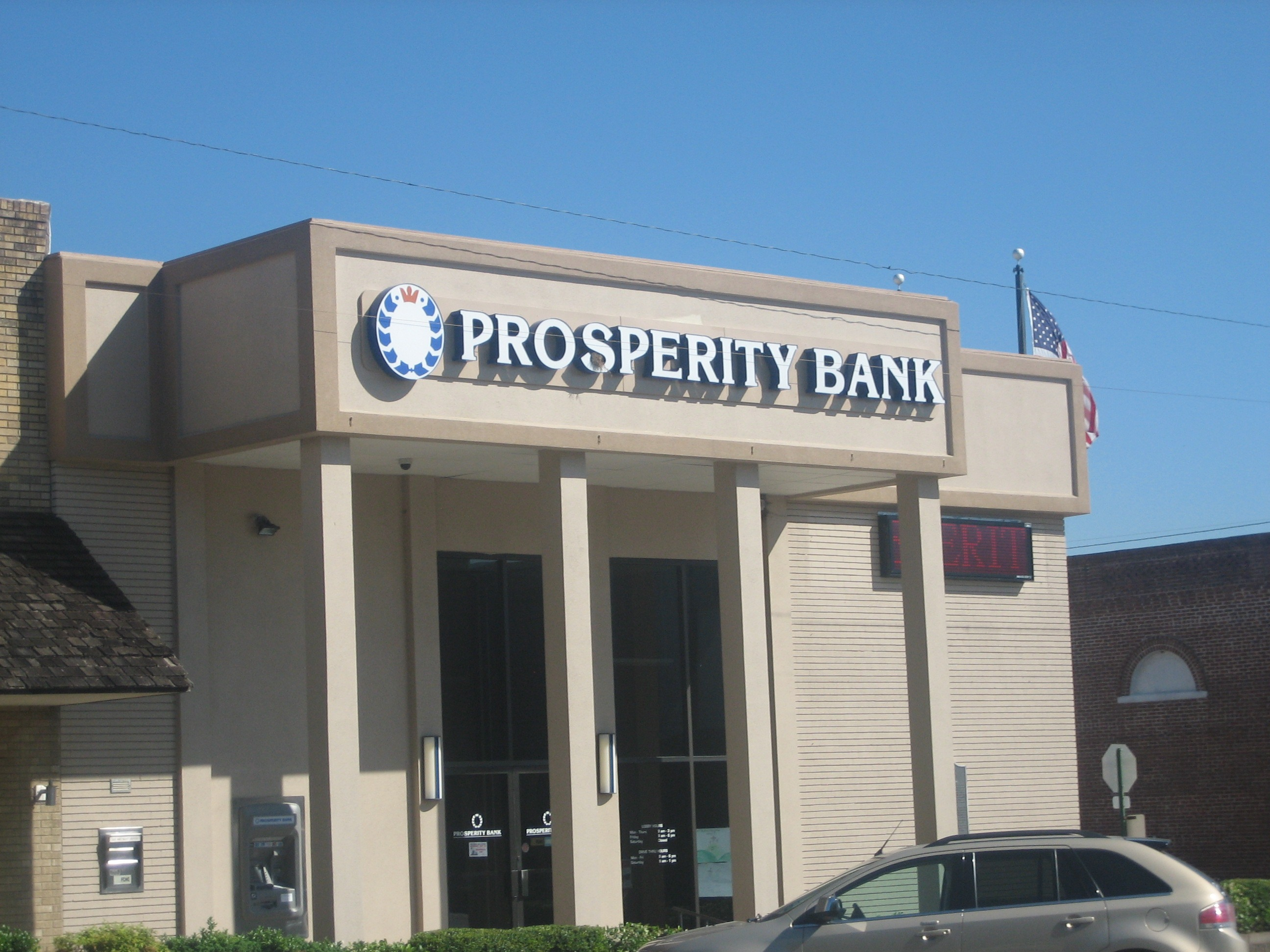 Prosperity to acquire Texan bank holding firm LegacyTexas for £1.7bn