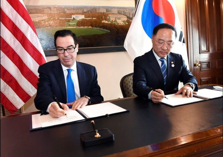 US and Republic of Korea sign framework to strengthen infrastructure finance and market building cooperation