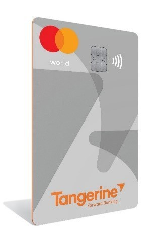 Tangerine-Tangerine Debuts New World Mastercard- with Coveted Pe