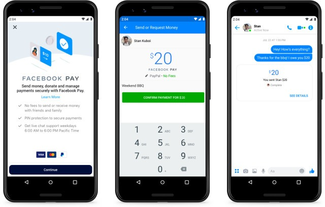 Facebook launches new integrated payment service Facebook Pay
