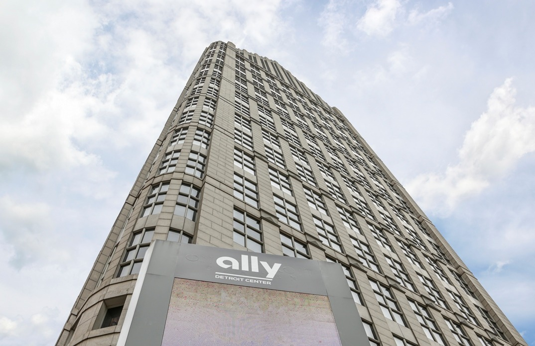 Image: Ally Detroit Center, Ally Financial's headquarters. (Credit: Ally Financial Inc.)