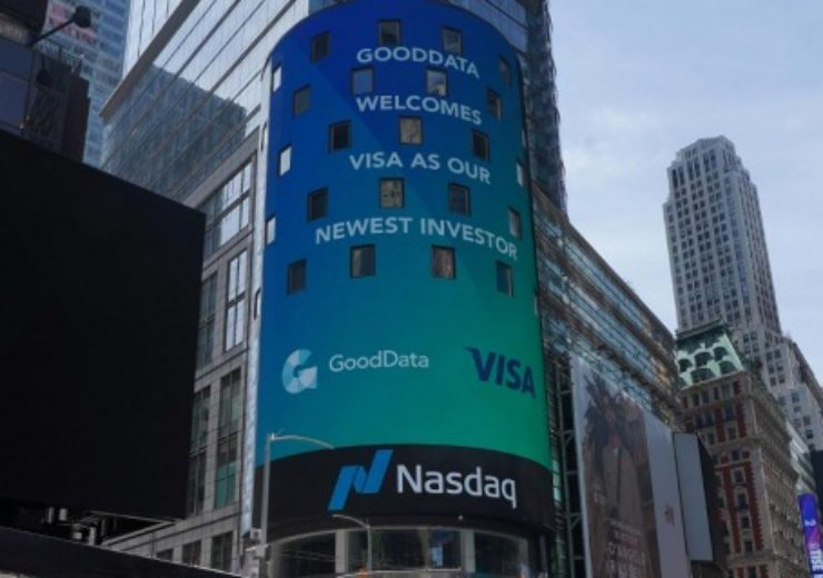 Visa invests in American analytics firm GoodData