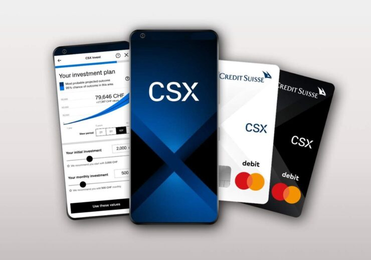 Credit Suisse to launch new app-based banking service CSX