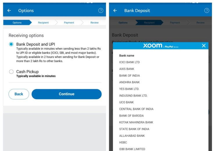 PayPal's Xoom integrates with UPI for instant money remittances to India