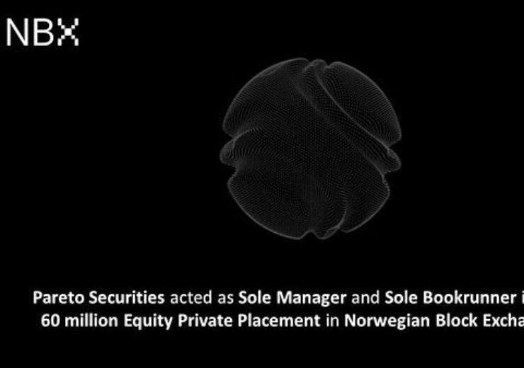 Norwegian Block Exchange (NBX) Raises Capital for Growth