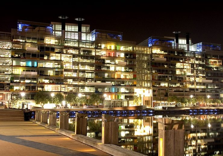 Victoria_Harbour_Offices_at_Night
