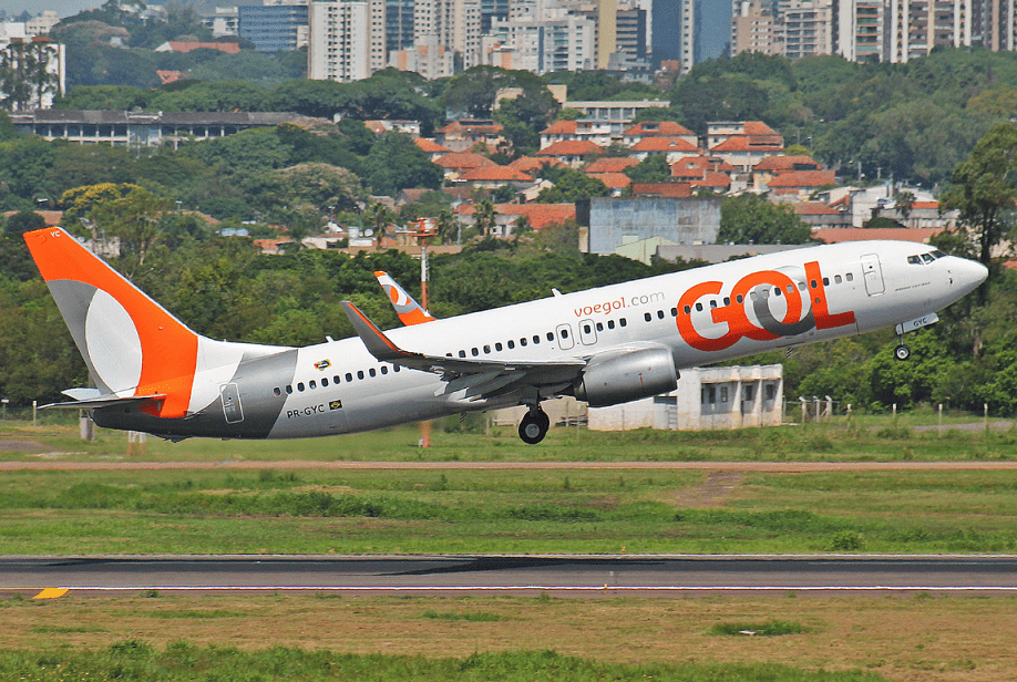 GOL's Boeing 737-800. (Credit: Aeroprints.com/Wikipedia.)